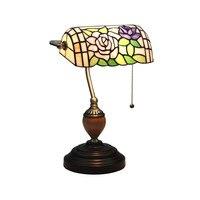 LukLoy American Retro Garden Bedroom Bedside Lamp European Bar Cafe Western Restaurant Desk Literary Bank Nostalgic Table Lamp