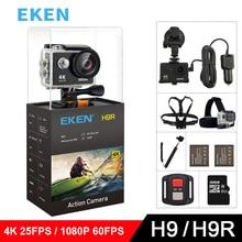 EKEN H9 H9R caméra daction dorigine Ultra FHD 4K 25fps 1080P 60fps WiFi 2.0