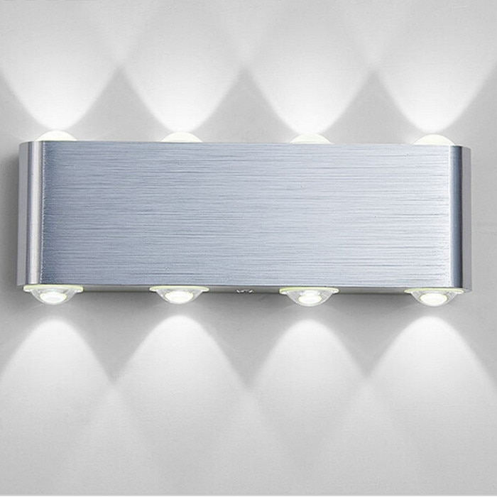 Free Shipping Indoor Fashion LED Wall Lamp 8W Decorate sconce bedroom Light  reading wall lamp decoration light AC85~265V