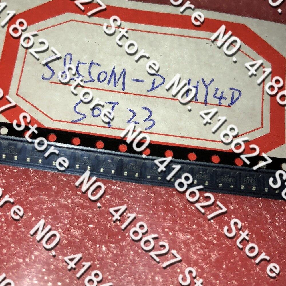 500 unids/lote Transistor SMD S8550M-D SOT-23 Serigrafía HY2D/HY4D a Transistor de alta corriente