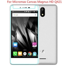 2 pièces 2.5D 0.26mm 9 H Premium verre trempé pour toile Micromax Magnus HD Q421 protecteur décran film de protection trempé