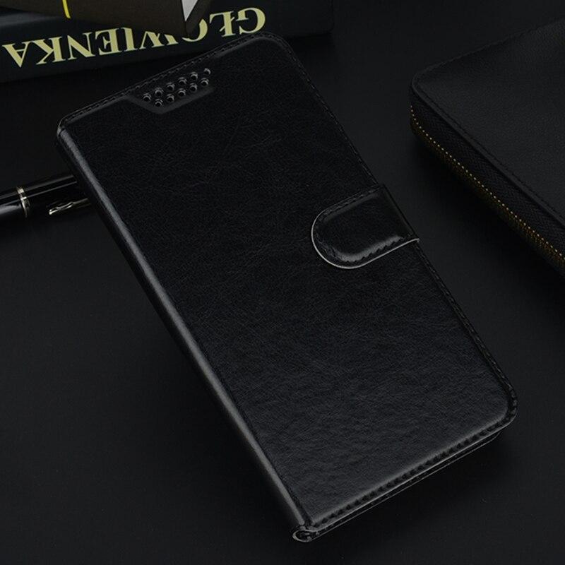 for Motorola Moto E4 Plus EU Flip Wallet Leather Phone Case Cover For Moto E4 US Black Holster Protective Cases