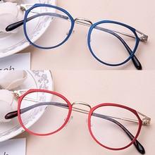 metal Unisex Eyeglass frames original brand prescription okulary glasses oculos oculos feminino ocul