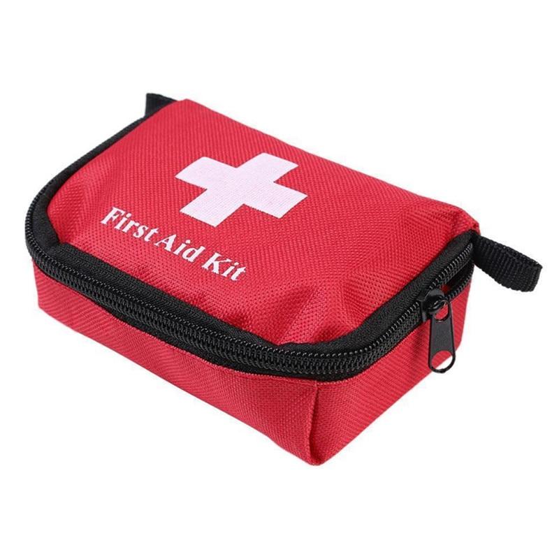 Funda médica para exteriores, ligera, práctica, de Nylon, compacta, para senderismo, acampada, supervivencia, viaje, primeros auxilios, bolsa vacía #289201