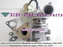 Turbo 49135-03200 ME202879 49135 03200 4913503200   Pour MITSUBISHI Canter Delica Challenger L400 98- 4M40 4M40T, 2,8l 140HP