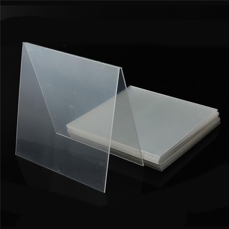 1 bolsa de férula Dental 1/1. 5/2mm Material termoformado hoja Oral dentadura modelo rebanada para vacío formando duro 127*127mm