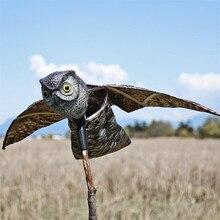Carillon volant, lutte contre les parasites   Hibou volant, souris de jardin, scache, carpette, fournitures de jardin en plein air