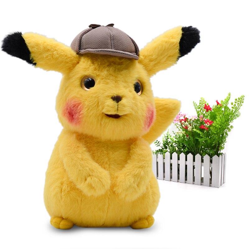 2019 película y TV Anime dibujos animados Detective Pikachu Mr. Mime Peluche muñecas kawaii juguete gran regalo de Navidad para los niños