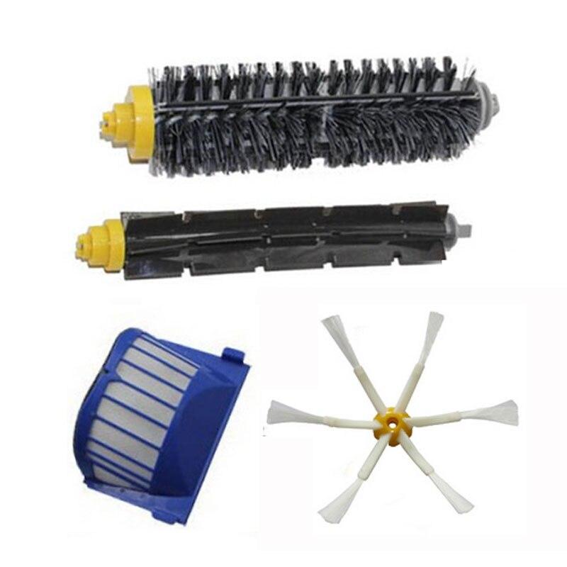 Cepillo 6-armed + filtros para iRobot Roomba 600 Series 610 620 630 660 650 pieza de vacío