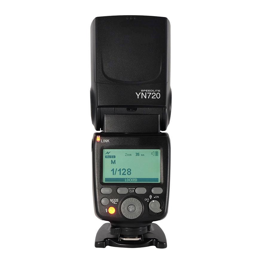 Kuulee YONGNUO YN720 Flash inalámbrico Maestro Esclavo Speedlite GN60 pantalla LCD para Canon Nikon Sony DSLR Cámara