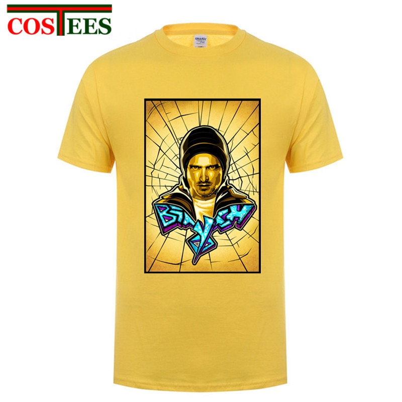 Moda Cool man Jesse Pinkman hombres camisetas Breaking Bad Keep Calm Science Yo Bitch impreso Camiseta de manga corta Camisetas básicas