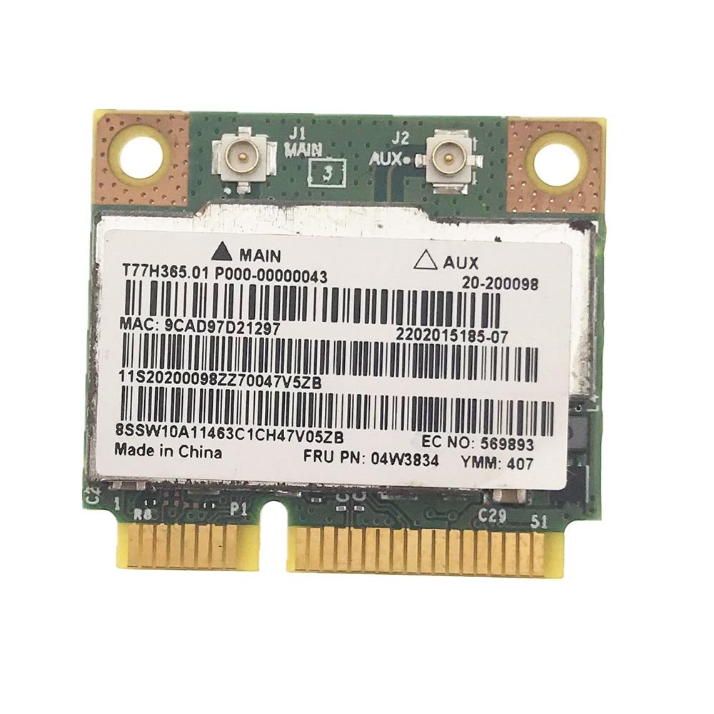 Беспроводная карта PCI-E для E135 E330 E335 X131E BCM943228HMB BCM43228 Bluetooth 4,0 Dual Band 300M Half MINI