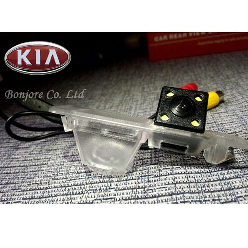 7 inch HD TFT Screen Bluetooth Mirror Monitor DC12V 1024*600 DC12V & Special CCD Car rear view camera For KIA K2 Rio Sedan enlarge