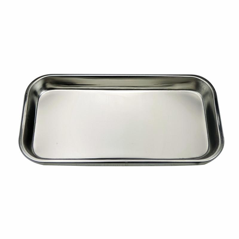 1pc Stainless Steel Dental Tool Holder Plate Tray Dental Medical Instrument Dish Dental Equipment Or