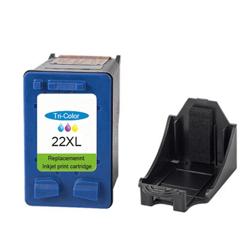 2019 caliente 21XL 22XL reemplazo de cartucho de impresión de inyección de tinta Compatible HP C9351A F2100 2180 3915 3930 para dé