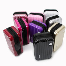 짐 디자인 여행 화장품 가방 메이크업 조직자 케이스 브러쉬 립스틱 세면 용품 보관 상자 HSJ88