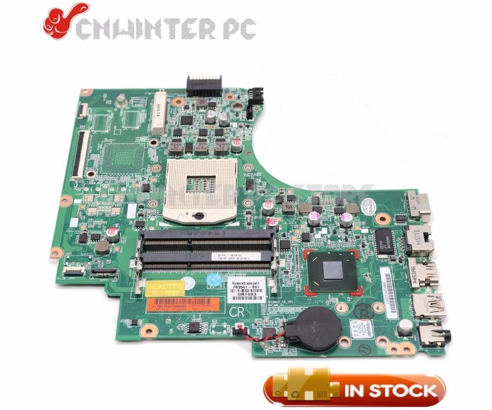 NOKOTION ل HP 14-D 240 G2 246 G2 اللوحة المحمول HM76 GMA HD DDR3 747262-501 747262-001