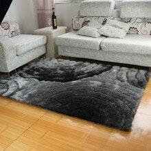 3d carpet 300d solid color gray black 1.2mx1 . 7m