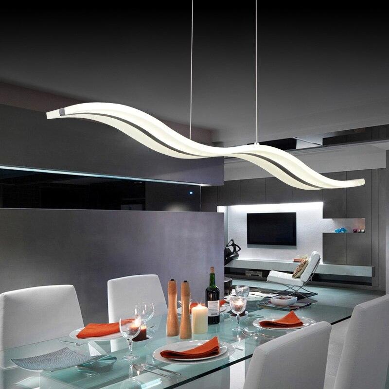 ¡Oferta! lámpara colgante LED moderna, luces colgantes para comedor, Hotel, pasillo, luz brillante, en Stock, 110 V, 220 V, 3 fuentes de luz