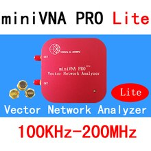 VNA 100 K-200 MHz векторный сетевой анализатор miniVNA PRO Lite VHF/NFC/RFID RF антенный анализатор VNA генератор сигналов SWR/S11 S21/Smith