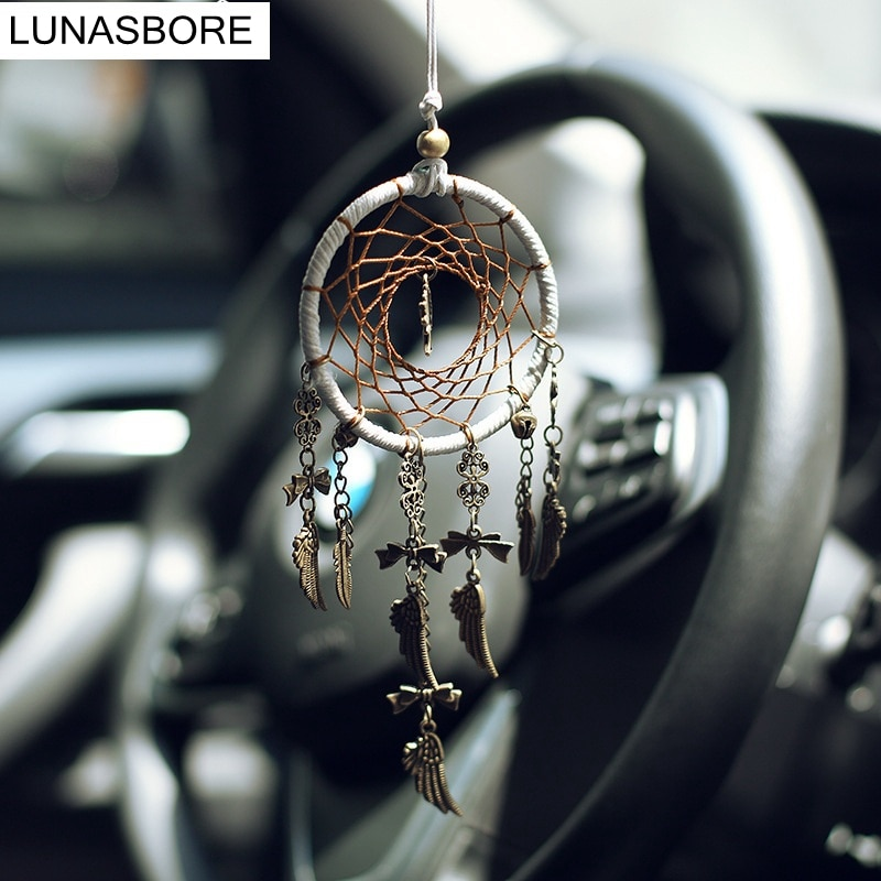 Dream Catcher Shells Handmade Dreamcatcher Wind Chimes Car mirror Pendant Wall Hanging Ornaments Home Decor