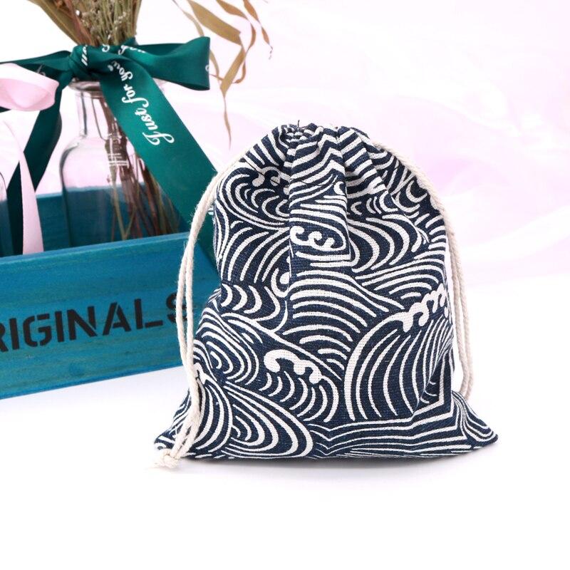 Горячая-Распродажа-14x16-см-5-шт-лот-упаковка-с-завязкой-мешочки-темно-синие-волнистые-хлопковые-сумки-ювелирные-изделия-конфеты-бусины-подар