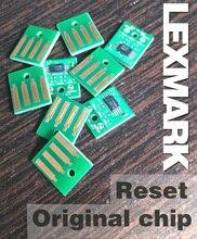 Darmowa wysyłka zresetuj oryginalny chip dla Lexmark MX510 MX511 MX610 MX611 z tonerem cartrigde układu 20 K wyślij swoje stare chipy do nas