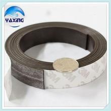 Bande magnétique en caoutchouc souple 5M   20mm de largeur 1.5mm dépaisseur bande magnétique en caoutchouc, bande magnétique Flexible et magnétique pour le bricolage