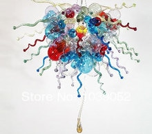 Modern Art Led Chandelier Blown Glass Lighting Decoration