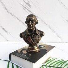 Stati Uniti di America Del Busto Abraham George Washington POTUS Figurine Statue In Resina Scultorea Accessori Per La Casa R10