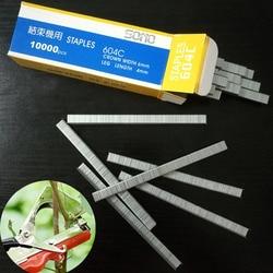 Caixa 2 Uso Profissional em Vinha Amarrando Máquina Ferramentas de jardim Final gravata amarrada mecha máquina ramo pino dedicado 10000/ caixa