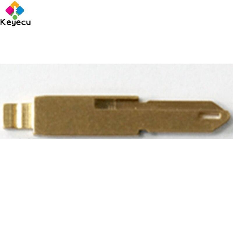 50 unids/lote KEYDIY controles universales clave Flip hoja NE73... NE72 para Peugeot 206