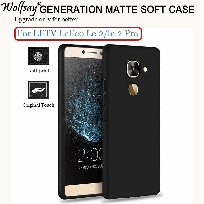 "Wolfsay Phone Case For LeEco LeTV S3 Le 2 X522 X620 X527 5.5"" Fashion Luxury Plastic Matte PC Cover For Letv LeEco Le 2 Pro Case"
