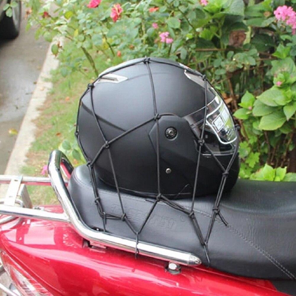 Bolsa de malla para motocicleta, guantes para casco ATV, bolsa de equipaje de carga, malla portátil, bolsas de red, accesorios de motocicleta
