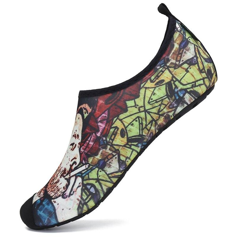 Sapatos de água dos homens sapatos de verão respirável aqua sapatos mulher praia chinelos rio mar sandálias natação mergulho meias tenis masculino