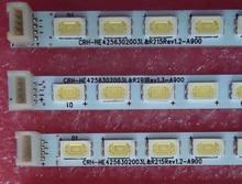 Led backlight screen LE42A800D CRH-HE4256302003L AU HE420EFC artikel lamp 1 stks = 60led 474mm