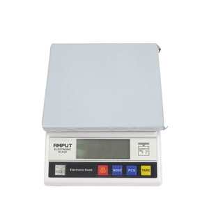 1PC 7.5kg x 0.1g Digital Precision Industrial Weighing Scale Balance Counting,7.5V Table Top Scale,Electronic Laboratory Balance