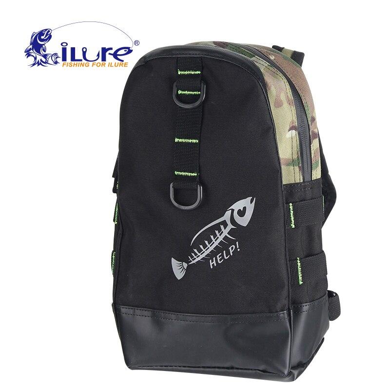 ILure 2017 многофункциональная сумка для рыбалки, сумки для катушек и рыболовных снастей, сумки для ловли карпа, приманка для приманки с эластич...