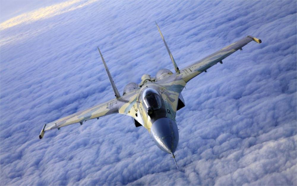 Летательные аппараты Sukhoi jet Aircraft Su 27 Flanker skyscapes fighters 4 размера украшение для дома холст печать плакатов