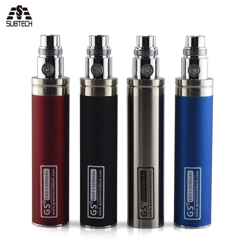 2017 edition GS eGo II Battery 2200mah E Cigarettes Updated EGO Battery For 510 CE4  Atomizer ecig  Battery enlarge