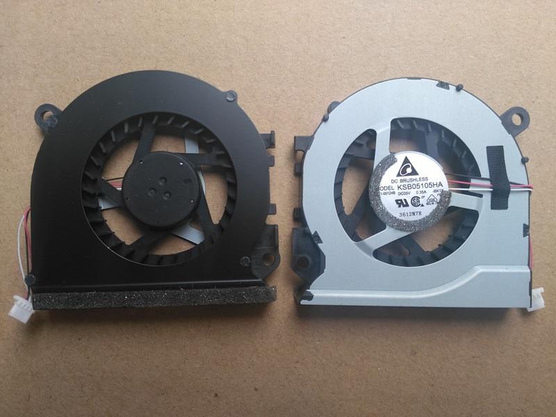 Zweite-hand laptop cpu lüfter für samsung 530u4b 530U4C NP535U4B 535U4C 532U4C NP535U4C KSB05105HA