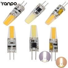 G4 LED Lamp 6W COB LED Bulb 12V AC/DC Mini g4 LED Light 220V Replace 40W Halogen Lamp Chandelier Lights Warm/Coo White Lighting