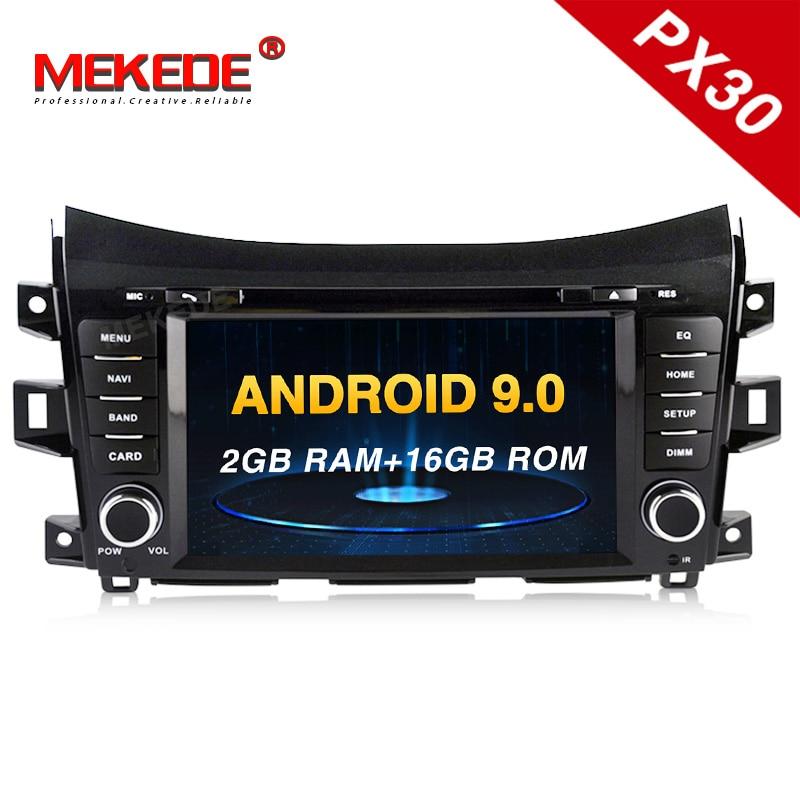 ¡Envío gratis! radio multimedia para coche Mekede android 9,0 para Nissan Navara Frontier NP300 2011 gps, grabadora de cinta estéreo para coche