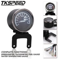 motorbike multi functional gauges instruments motorcycle digital odometer speedometer tachometer fuel level meter indicator led