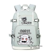 Kantai Collection Kan Colle Hoppou Seiki Kawaii femmes sac à dos Lolita sacs décole pour filles sac à dos pour ordinateur portable en toile rose Bookbag