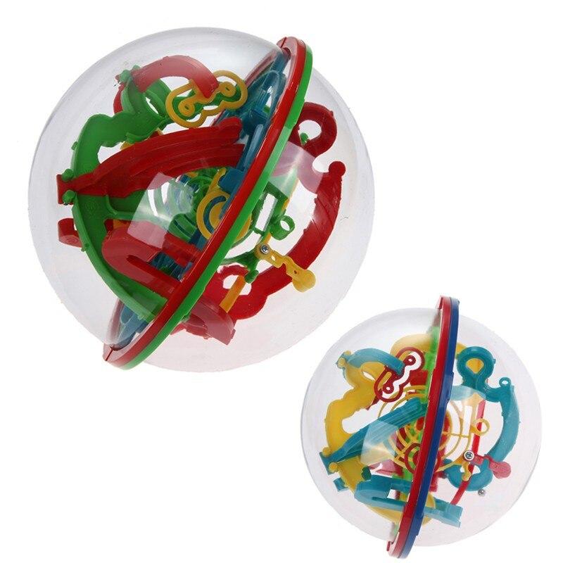 Детский 3D шар, лабиринт, магический, умственный, развивающая игра