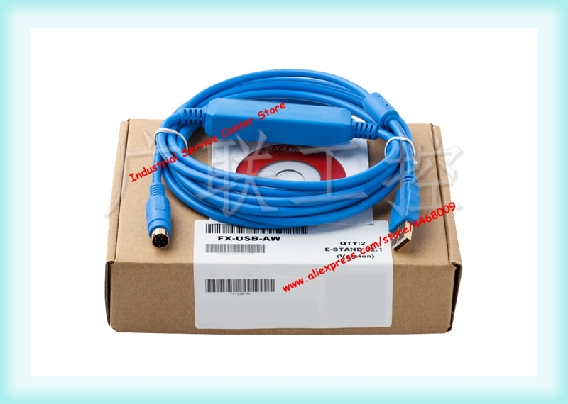 FX-USB-AW ينطبق FX3UC/FX3G PLC البرمجة كابل بيانات تحميل كابل