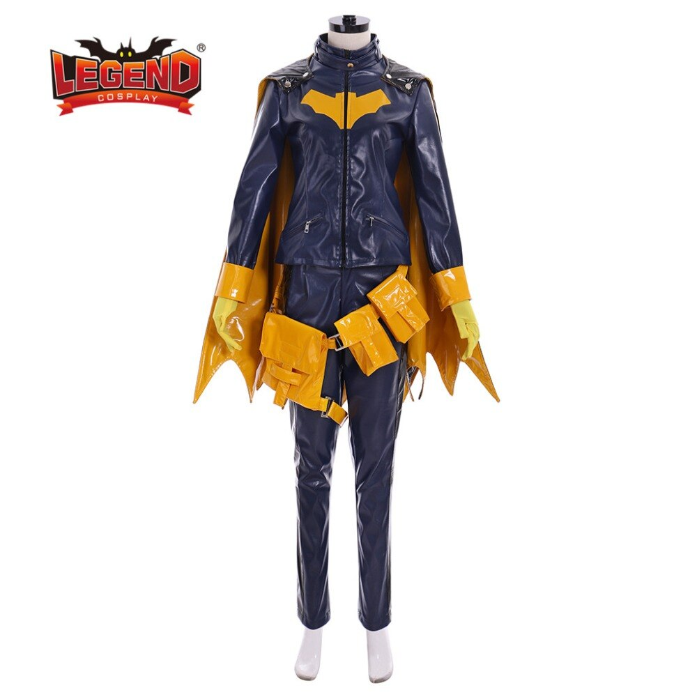 Batgirl, disfraz de Cosplay para mujer adulta, fiesta de Halloween, superhéroe, Barbara Gordon, Batgirl, disfraz de Halloween, ropa personalizada