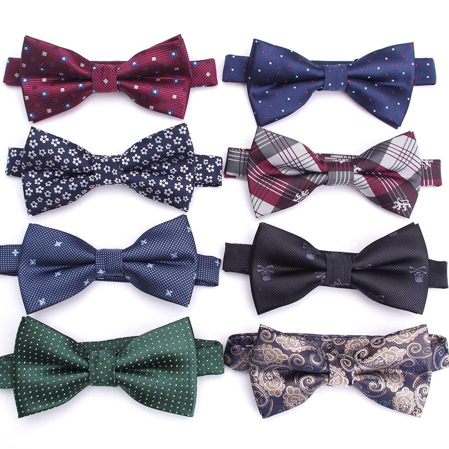 Moño para hombres a la moda a rayas para boda o negocios, corbata para fiesta, vestido de fiesta para hombre, pajaritas de regalo para hombre, accesorios de la camisa