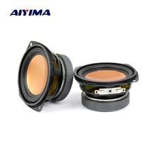 AIYIMA 2 pièces haut-parleur Audio 3 pouces 4Ohm 20W gamme complète haut-parleur de basse haut-parleur multimédia haut-parleur Audio de bureau bricolage